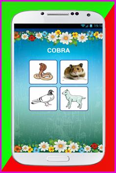 Quiz Animals Game For KIDS poster