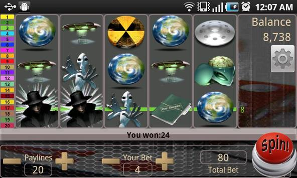 Alien MafiaSpin Slot screenshot 2
