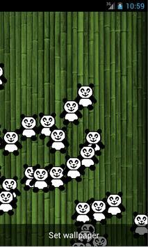 Bubble Pandas Wallpaper apk screenshot
