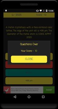 VITEEE Exam Quiz screenshot 5