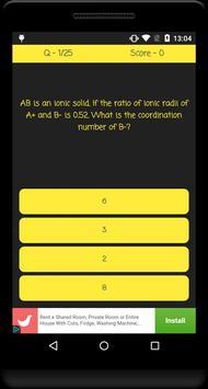 VITEEE Exam Quiz screenshot 2