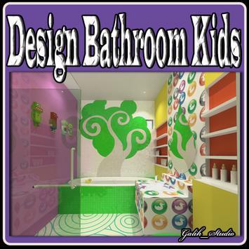 Design Bathroom Kids poster