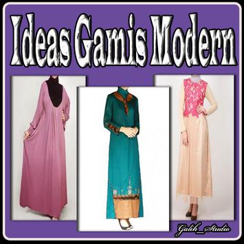 Ideas Gamis Modern poster