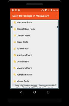 Daily Horoscope In Malayalam screenshot 1
