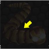 Invisible skin-slitherio icon