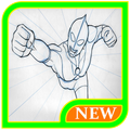 How To Draw Ultraman Character