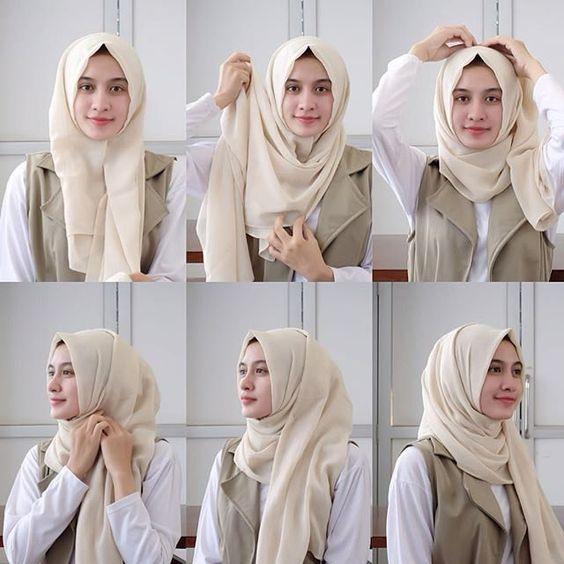 Foto Tutorial Hijab Hijabfest