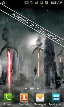 Invasion LITE live wallpaper apk screenshot