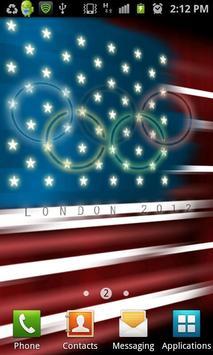 USA Flag Stylized LITE poster