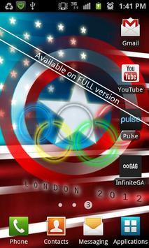 USA Flag Stylized LITE screenshot 1