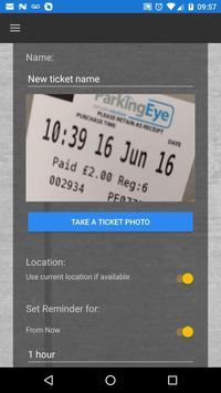 Pay and Display Reminder screenshot 1