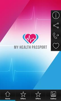 My Health Passport screenshot 1
