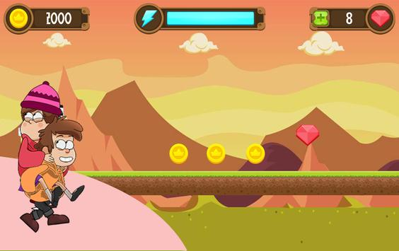 ♕ Gravitty Falss Adventures ♕ apk screenshot