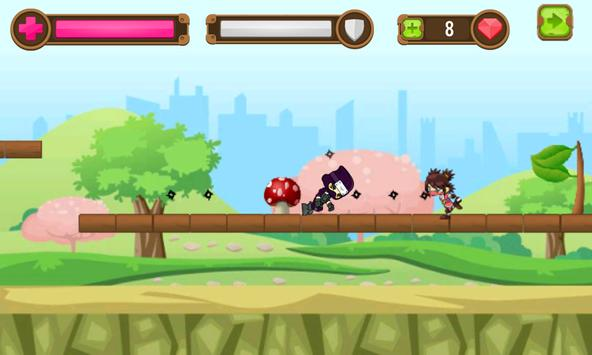 Ninja Masha Adventure apk screenshot