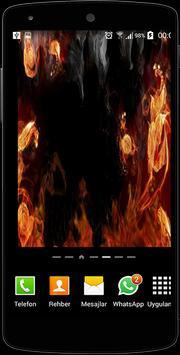 Fire Screen Live Wallpaper poster