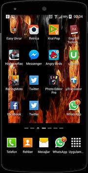 Fire Screen Live Wallpaper screenshot 3