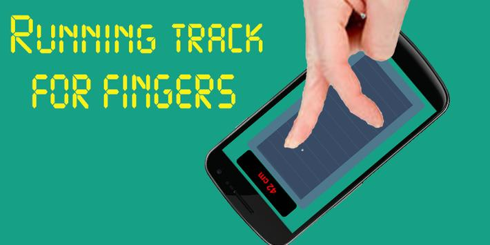 Running track for Finger poster