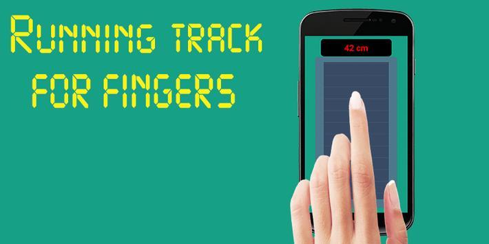 Running track for Finger screenshot 1