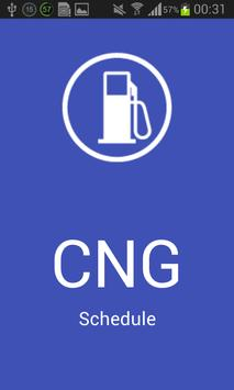 CNG Schedule poster