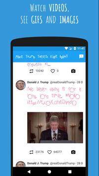 Make Trump Tweets 8 Again!! screenshot 1