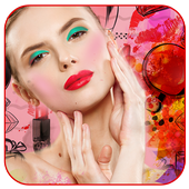 Beautiful Makeup Face Photo Effects icon