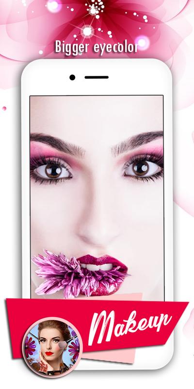 ... YouCam Makeup - Selfie Makeovers screenshot 9 ...