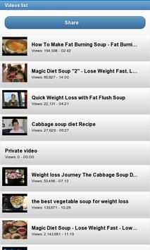 Weight Loss Foods screenshot 1