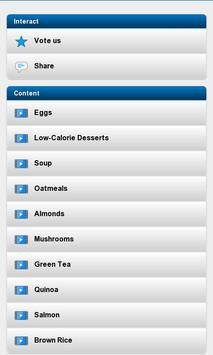 Weight Loss Foods screenshot 6