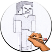 How to Draw Minecraft icon