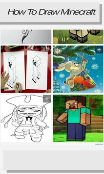 How to Draw Minecraft screenshot 1