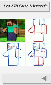 How to Draw Minecraft screenshot 2