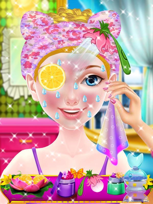 ... Flower Girl - Princess Makeup Salon Games screenshot 7 ...