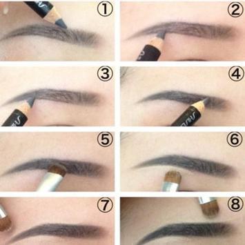 Eyebrow Makeup Tutorial apk screenshot