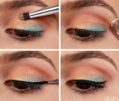 Makeup Tutorial for Brown Eyes apk screenshot