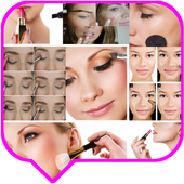 Makeup Tutorial for School Step by Step icon
