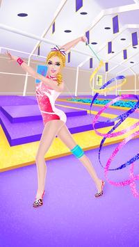 American Gymnastics: Girls SPA poster