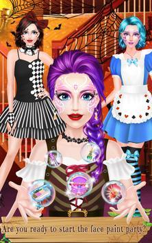 Face Paint Party: Spooky Salon screenshot 9