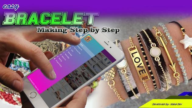 Easy Bracelet Making Step by Step poster