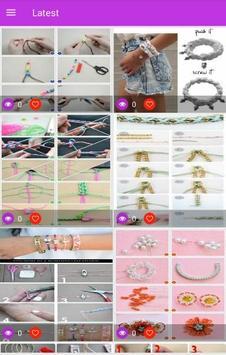 Easy Bracelet Making Step by Step screenshot 2