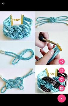 Easy Bracelet Making Step by Step screenshot 4