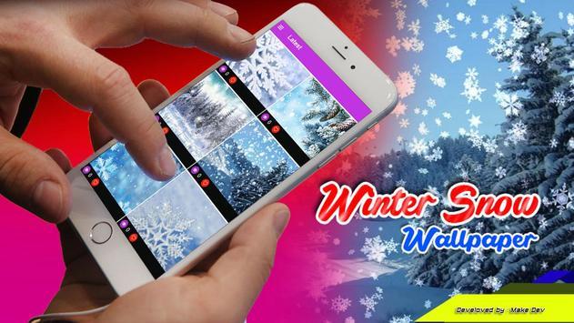 Winter Snow Wallpaper poster