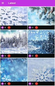 Winter Snow Wallpaper screenshot 2