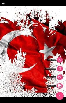 Turki Flag Wallpaper screenshot 4