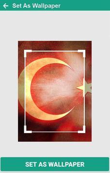 Turki Flag Wallpaper screenshot 5