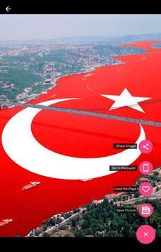 Turki Flag Wallpaper screenshot 3
