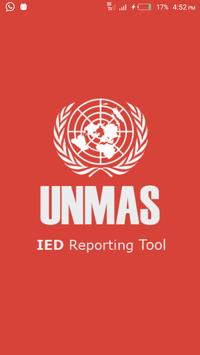UNMAS IED Reporting Tool poster