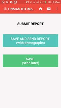 UNMAS IED Reporting Tool screenshot 2