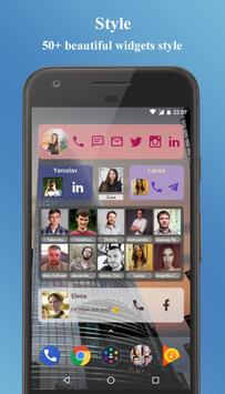 Contacts Widget screenshot 1