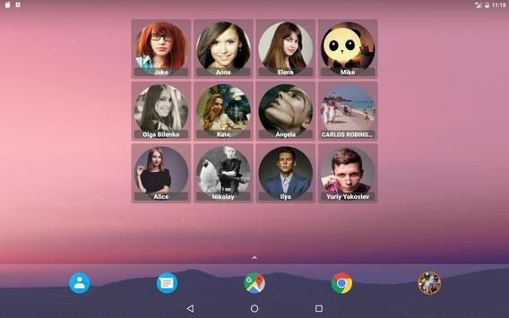 Contacts Widget screenshot 9
