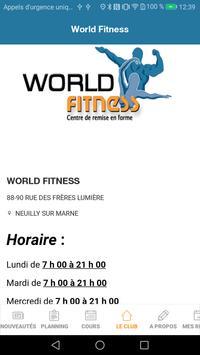 World Fitness apk screenshot